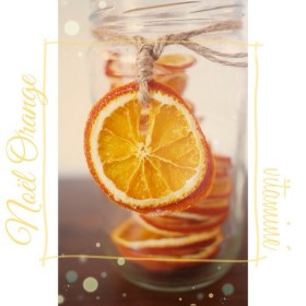 Noël orange vitaminé ❉