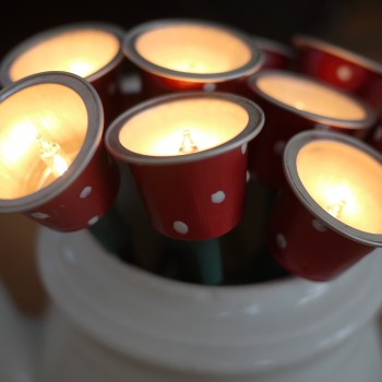 Rouge et blanc aux pois c est ecolochic chiara moi - Que faire avec des capsules nespresso ...