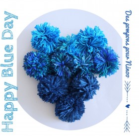 « Happy Blue Day » By Ninoo : le 2 avril 2014