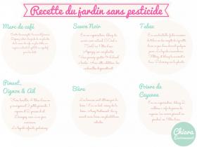 «La semaine sans pesticides» du 20 au 30 mars 2014 • Des recettes pour vos jardins