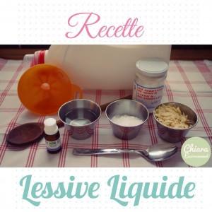 Lessive liquide Chiara et Moi