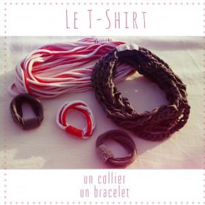 Tshirt Collier Bracelet Chiara et Moi
