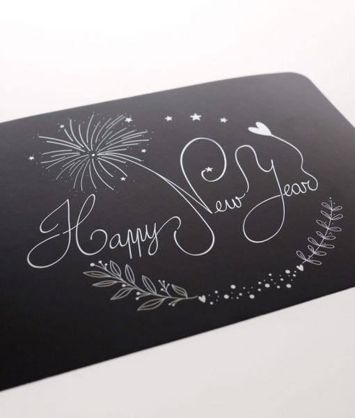 Carte « Happy New Year »
